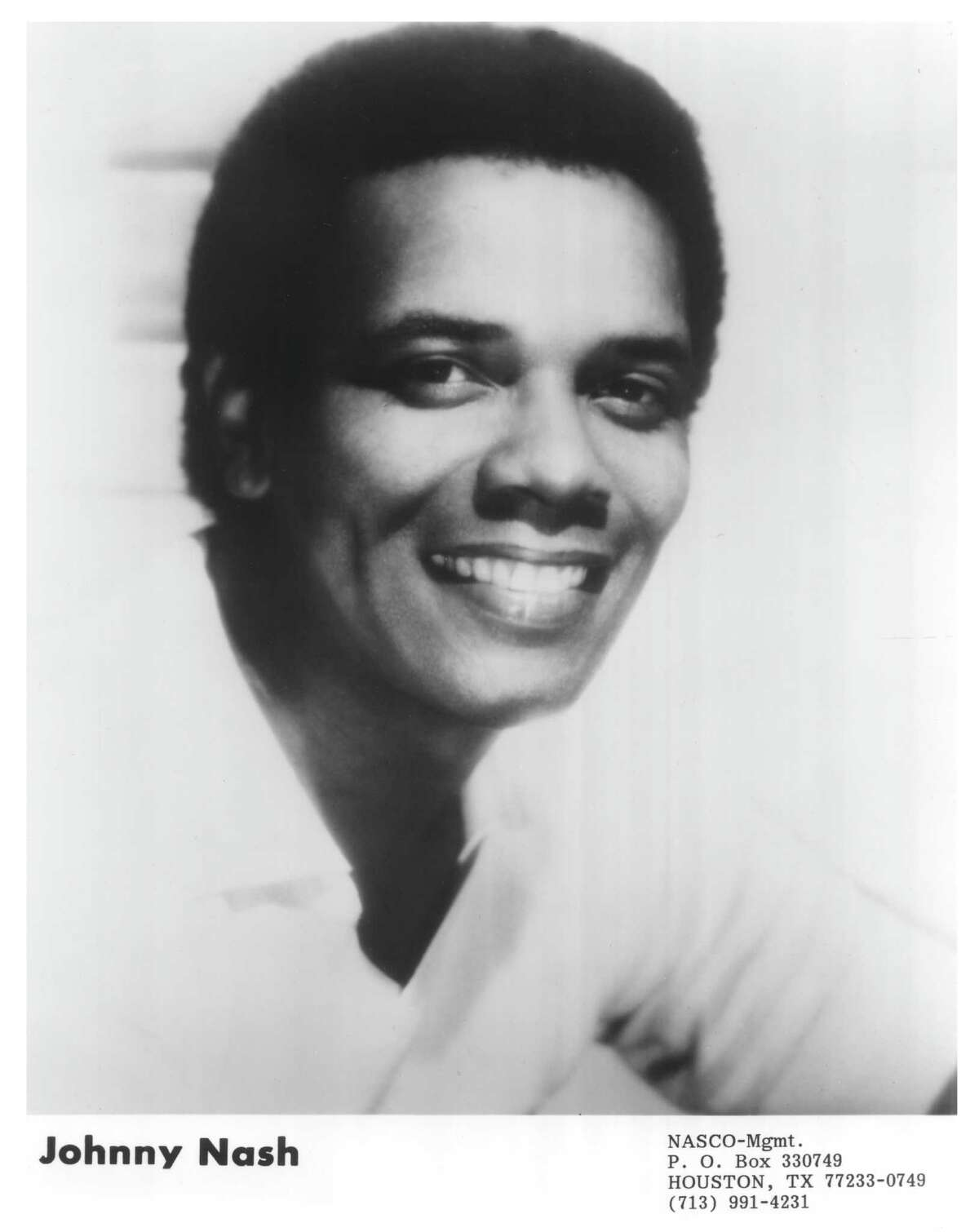 Johnny Nash was best known for his song