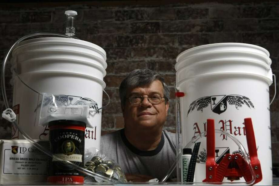 Scott Birdwell of Defalco's Home Wine & Beer Supplies on Stella Link said he is closing shop after 48 years. (Julio Cortez / Houston Chronicle)