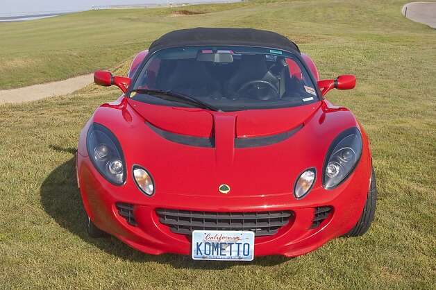 Despite his love for the car, Grossman says the Lotus Elise lacks in leg room. Photo: Stephen Finerty, Photograph By Stephen Finerty -