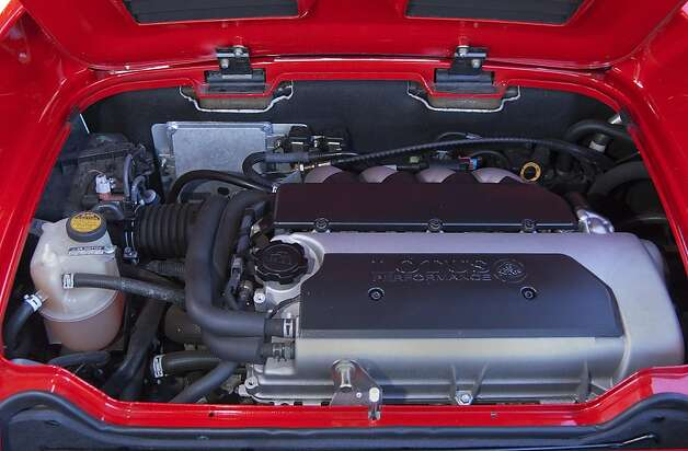 The 2005 Lotus Elise engine is manufactured by Toyota. Photo: Stephen Finerty, Photograph By Stephen Finerty -
