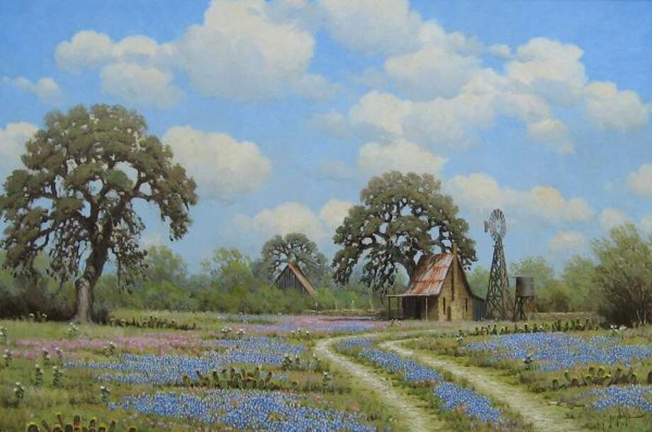 Brush Country Spring by Randy Peyton (Courtesy of J.R. Mooney Galleries of Fine Art)