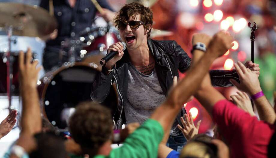 Hot Chelle Rae performs at Alive@Five in Stamford on Thursday, July 5. Photo: Kent Nishimura, Getty Images / 2012 Getty Images