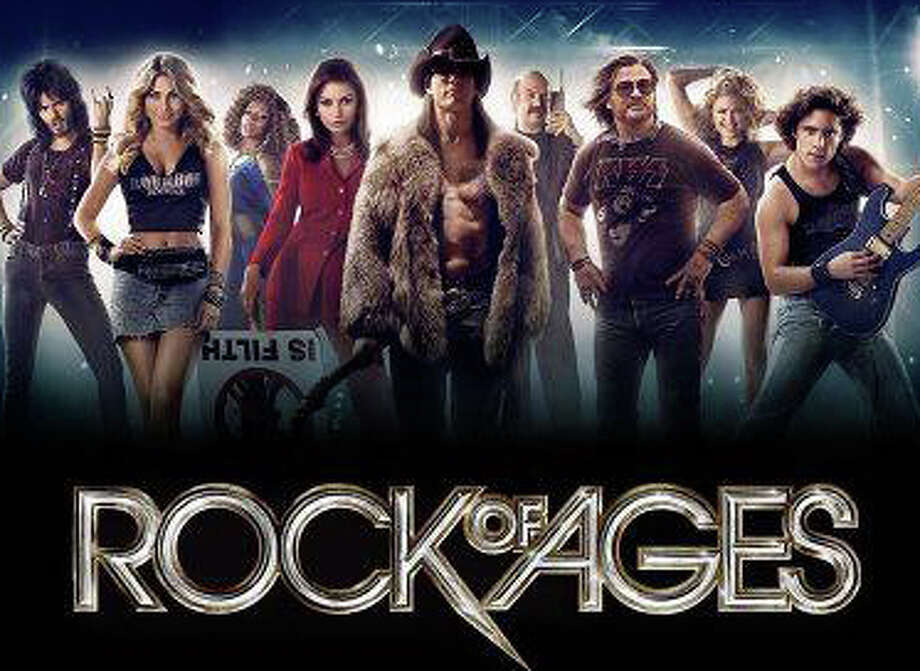 """Rock of Ages,"" a movie on 1980s-era rock music starring Tom Cruise, is playing in area theaters. Photo: Contributed Photo / Westport News contributed"