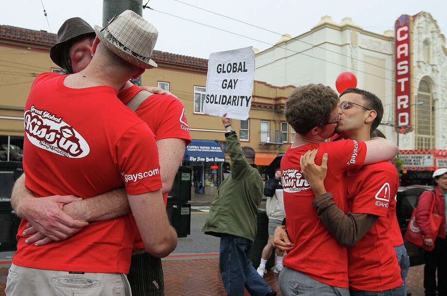The Castro, in San Francisco, has the nation's highest percentage of same-sex male couple households. Photo: Justin Sullivan, Getty Images / 2010 Getty Images