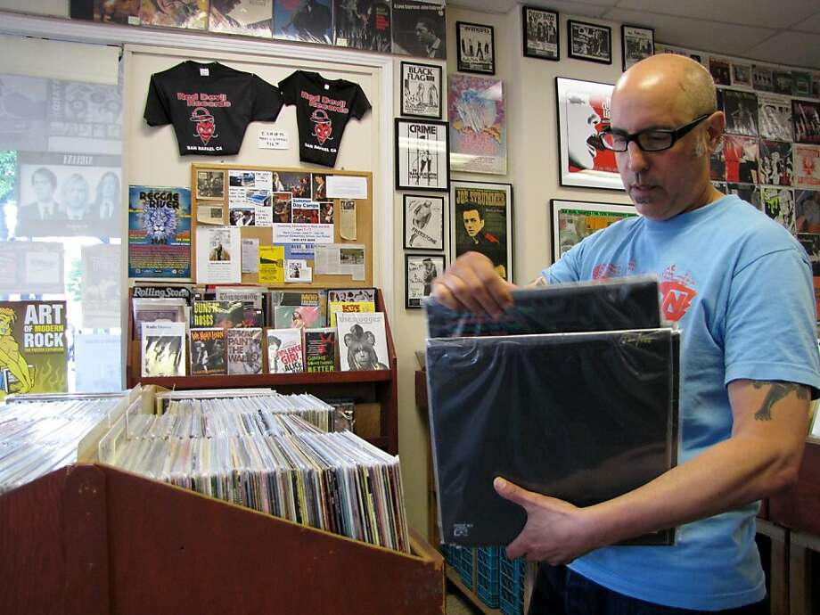 The lone representative from Marin County, Red Devil Records in San Rafael houses a large collection that will please vinyl collectors of all different tastes. (894 4th Street, San Rafael. http://reddevilrecords.net/) Photo: Stephanie Wright Hession