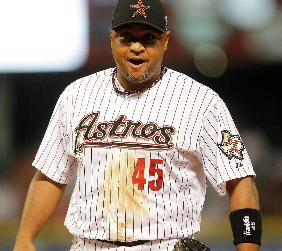 ?El caballo? Carlos Lee, durante un juego reciente en el Minute Maid Park de Houston. Photo: Karen Warren / © 2012  Houston Chronicle