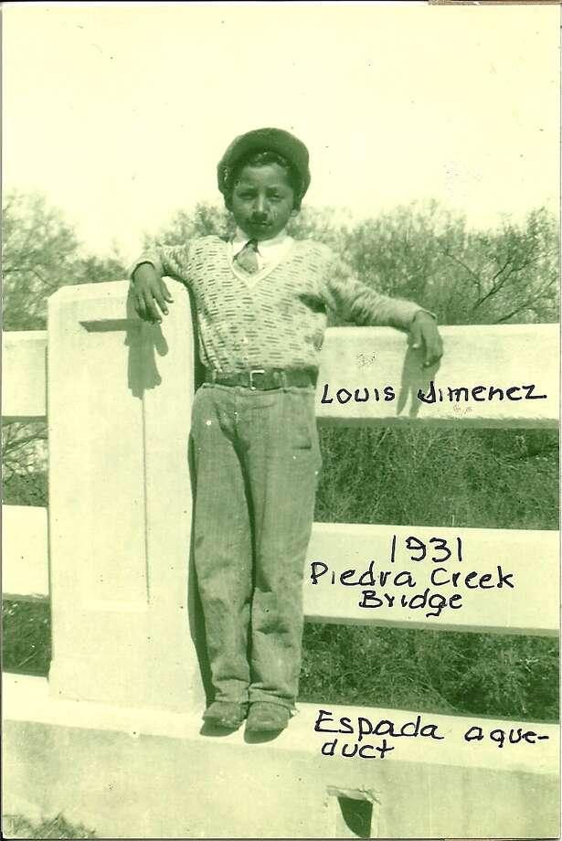 Then: Louis Jimenez in 1931 Photo: Courtesy