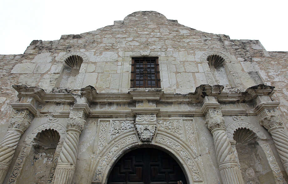 Alamo, a Spanish mission and the site of a siege in 1836 by Mexican forces. Also: Alameda Theatre, Alamo Bowl, Alamo Community Colleges, Alamodome, Alamo Dragway, Arneson River Theatre, Artpace, AT&T Center and Aztec Theater. Photo: Kin Man Hui / © 2012 San Antonio Express-News