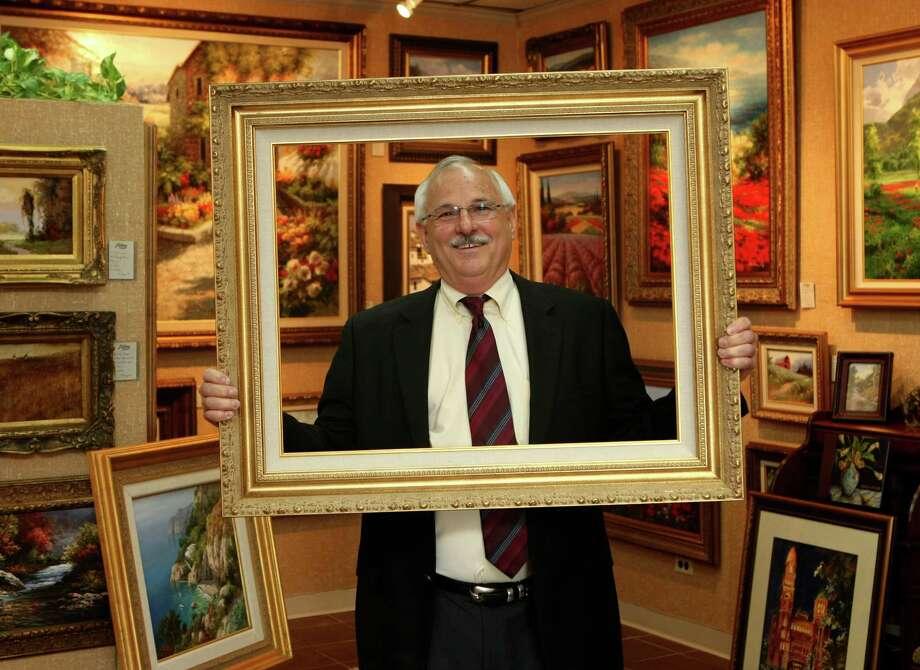 Bob Mooney runs J.R. Mooney Galleries of Fine Art. The company is celebrating it's 65th annivesrary this year. Photo: Helen L. Montoya, San Antonio Express-News / ©SAN ANTONIO EXPRESS-NEWS