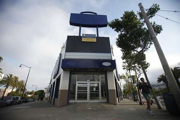 A building on Market and Dolores Streets has plans to be developed on Tuesday June 30, 2009 in San Francisco, Calif. Photo: Lea Suzuki, The Chronicle