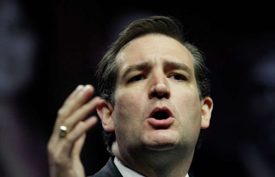 U.S. Senate Candidate Ted Cruz speaks during the Texas Republican Convention in Fort Worth, Texas,  Saturday, June 9, 2012. Cruz and David Dewhurst are locked in a fierce fight for the Republican nomination to fill Texas' open U.S. Senate seat. Photo: AP