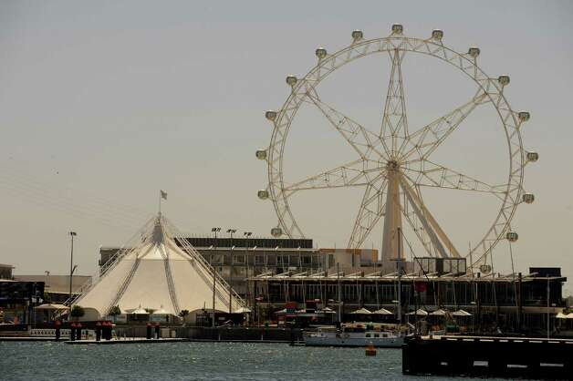 When the 394-foot-high Southern Star opened in Melbourne, Australia in 2009, it was the tallest Ferris wheel in the Southern Hemisphere. It also tied for fourth tallest wheel in the world. But the Southern Star soon closed over structural concerns. Owners have since decided to rebuild a new wheel. Photo: Robert Cianflone, Getty Images / 2009 Getty Images