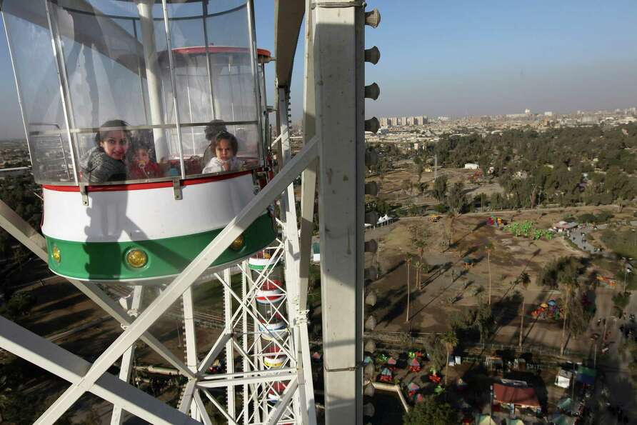 A ride on the Baghdad Eye.