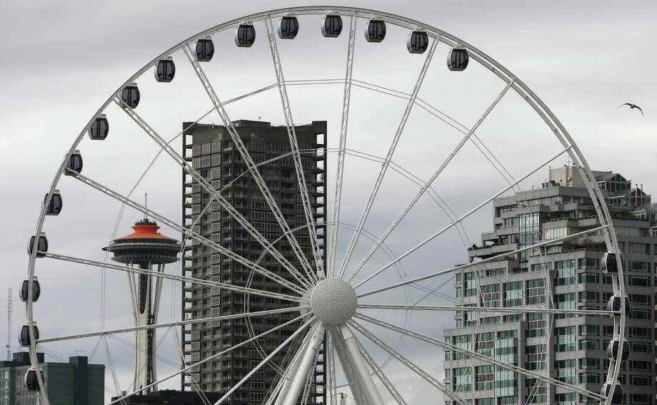 The Seattle Great Wheel is shown on Tuesday, June 5, 2012. Photo: JOSHUA TRUJILLO / SEATTLEPI.COM