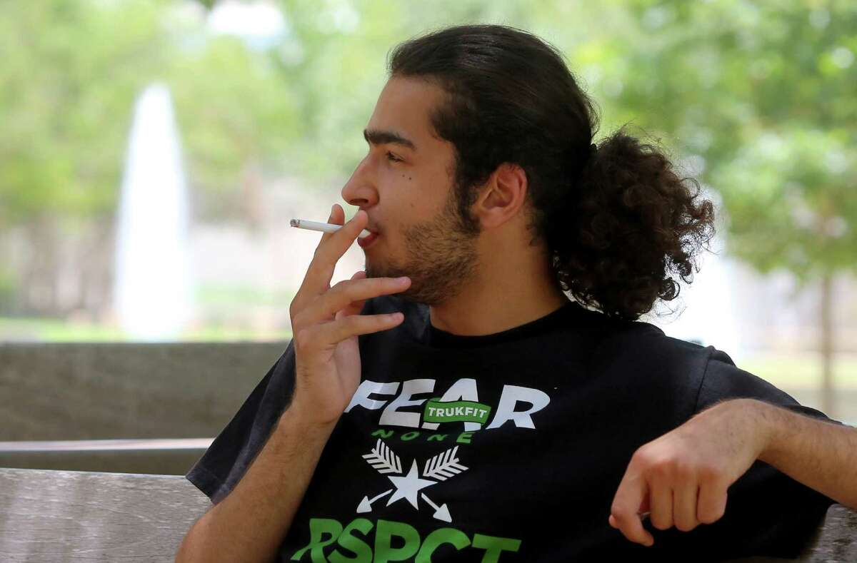 UH business major Muklhef Alshammari won't be puffing cigarettes on campus this fall if a proposal to ban smoking is approved.