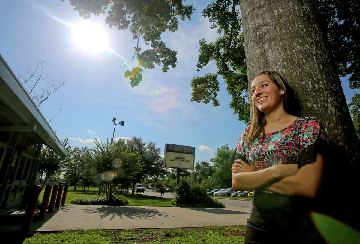 Thailandia Alaffita, an undocumented immigrant from Mexico, has a degree from UT-Austin and hopes Friday's policy change will allow her to become a teacher.