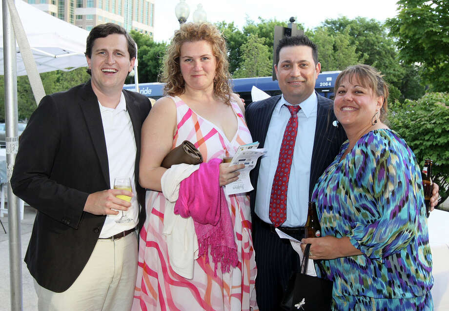 Were you seen at Downtown Albany Business Improvement District's Sculpture in the Street Garden Party, on Friday, June 15, 2012 in Federal Plaza Park in downtown Albany? Photo: Joe Putrock/Special To The Times Union