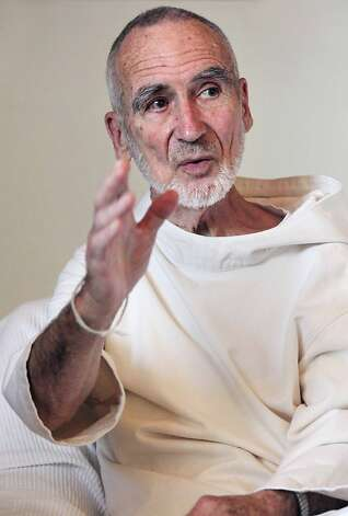 "Brother David Steindl-Rast, 85, is a Benedictine monk. He is considered by many to be the spiritual leader of the ""gratitude movement.""  He will speak with scientists, poets, teachers, and spiritual leaders at the ""Pathways to Gratefulness"" conference. Photo: Don Lattin, Unknown"