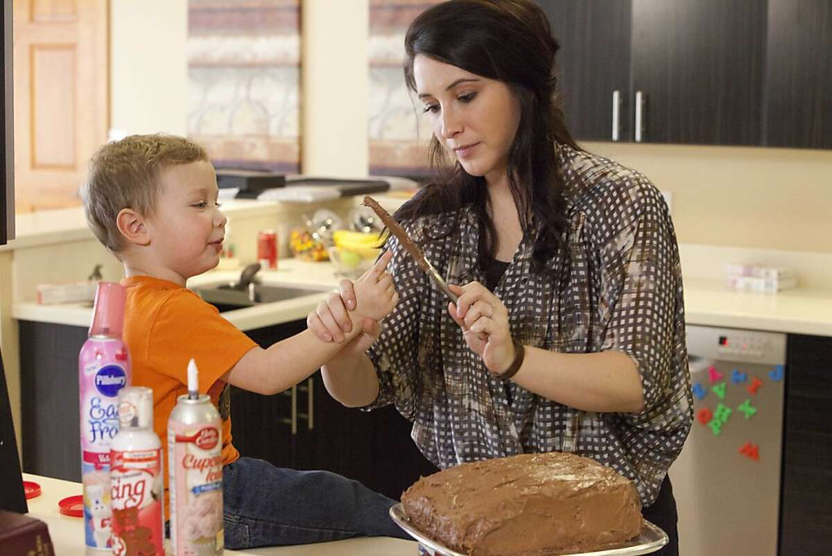 (L to R) Tripp and his mom Bristol Palin in the new Lifetime docuseries, Bristol Palin: Life?•s a Tripp, premiering Tuesday, June 19th, at 10pm, on Lifetime.