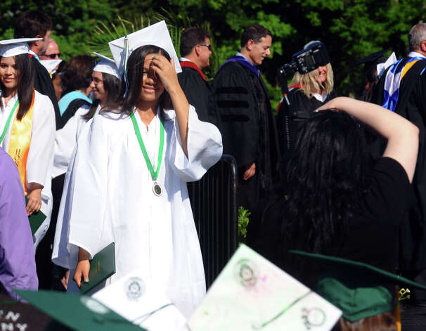 Highlights from Norwalk High School's Class of 2012 Commencement Ceremony in Norwalk, Conn. on Friday June 15, 2012. Photo: Christian Abraham / Connecticut Post