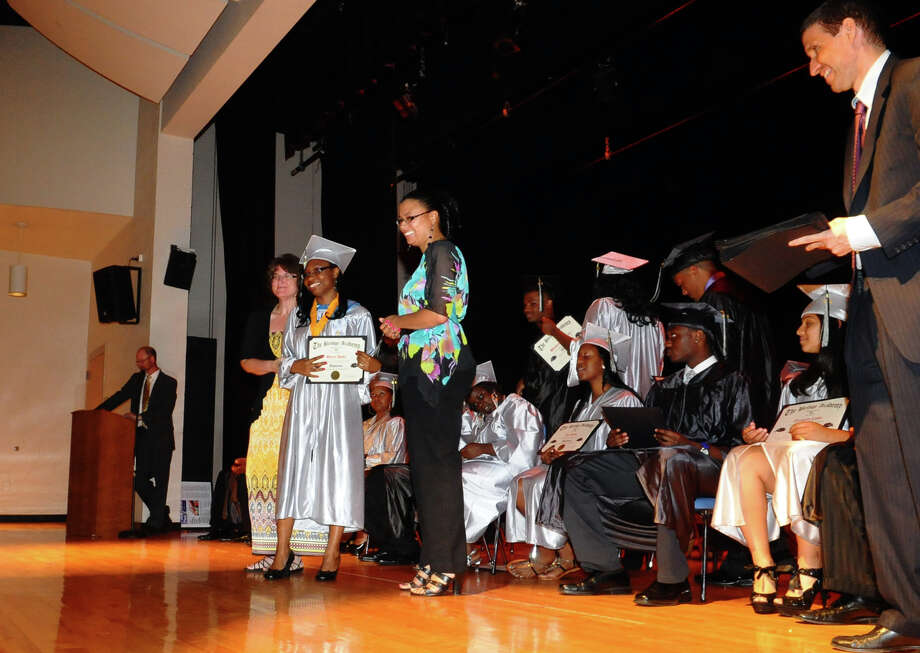 Highlights from Bridge Academy's Class of 2012 Commencement Exercises in Bridgeport, Conn. on Friday June 15, 2012. Photo: Christian Abraham / Connecticut Post