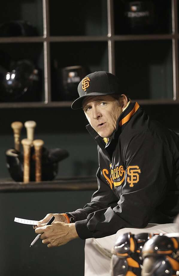Dave Righetti is the Giants' pitching coach. Photo: Jeff Chiu, Associated Press