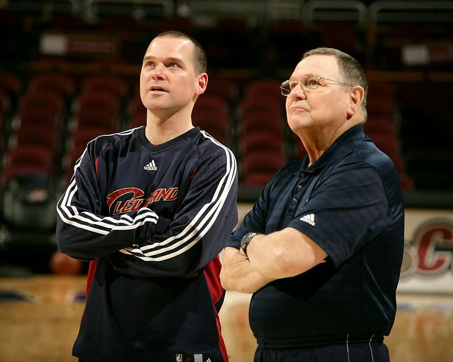 Warriors assistant coach Mike Malone is the son of former NBA head coach Brendan Malone. Photo: Courtesy Of The Malone Family
