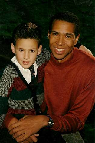 Klay Thompson is the son of former NBA player Mychal Thompson. Photo: Courtesy The Thompson Family