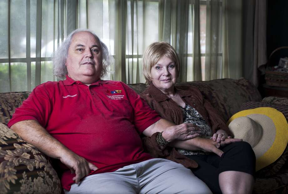 Veteran Joe Boatman and his wife, Jennie, of Round Rock, successfully fought their way out of the fiduciary program with the Veteran's Administration. Thao Nguyen/For the Express-News