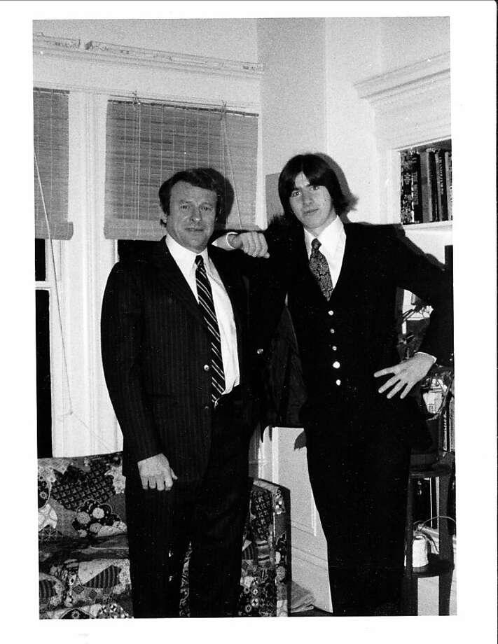 Peter Fimrite with his dad Ron Fimrite Photo: Courtesy Photo, Fimrite Family