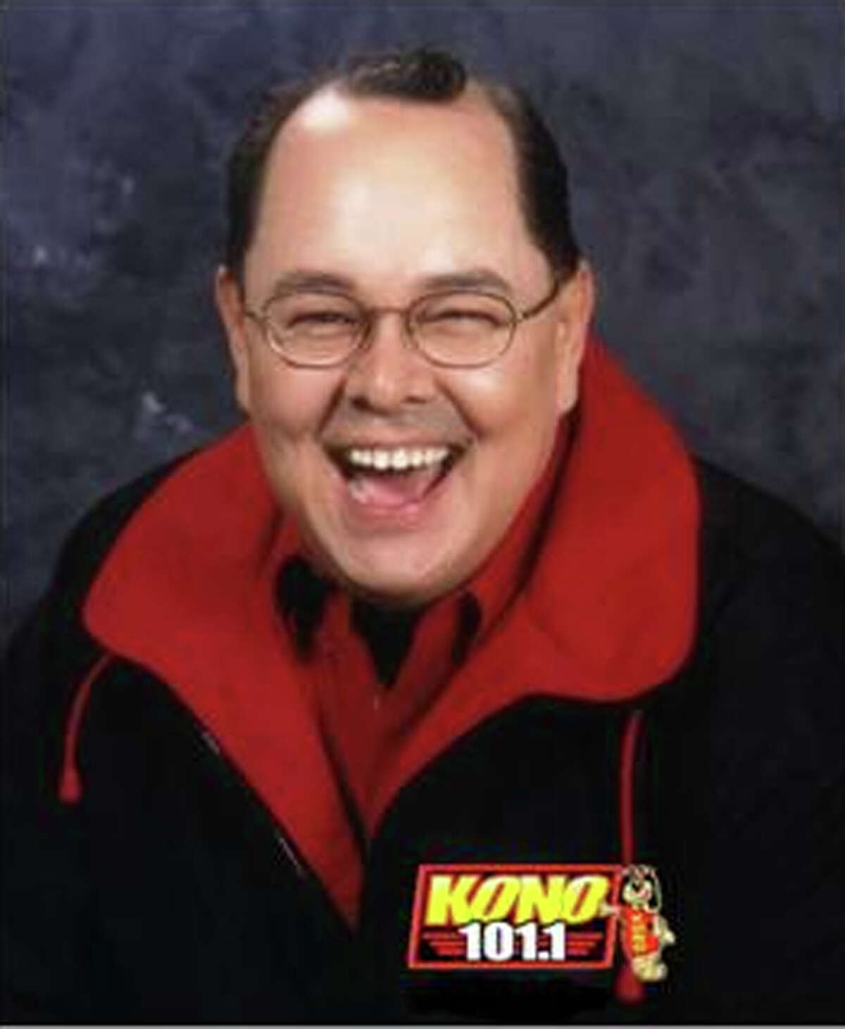 KONO radio host Dave Rios was the gold-medal winner for local radio personality/team.