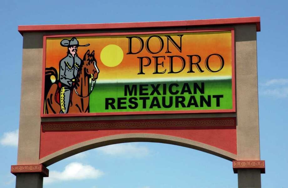 Don Pedro Mexican Restaurant: 19681526 SW Military Dr, (210) 201-252, www.donpedro.net Photo: Juanito M.Garza, San Antonio Express-News