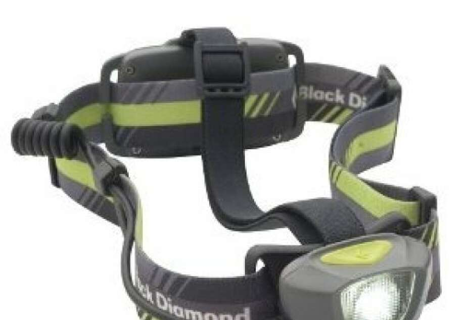 The Black Diamond Sprinter Headlamp is designed for night joggers, but a handy addition to any travel pack. Photo: Amazon.com