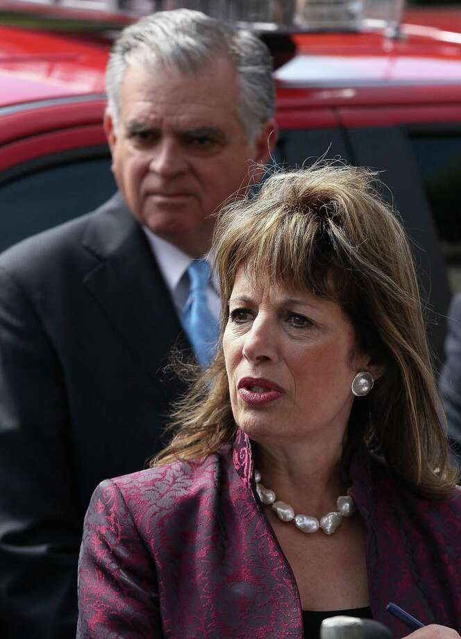 "U.S. Rep. Jackie Speier, D-Calif., was to ask the House Armed Services Committee to investigate the sexual misconduct scandal at Joint Base San Antonio-Lackland. ""What is being uncovered at Lackland flies in the face of what we are being told by our military,"" Speier said. Photo: Justin Sullivan, Getty Images / 2011 Getty Images"