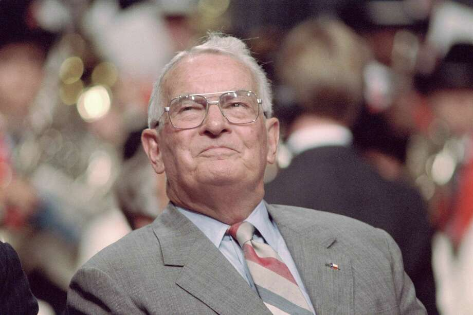 When elected in 1978, Bill Clements became Texas' first Republican governor since Reconstruction. Photo: Houston Chronicle File Photo / Houston Chronicle
