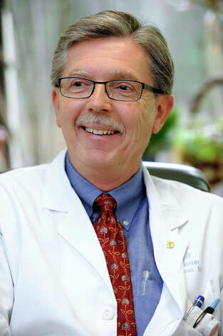 Dr. Robert Kloss, chief of hematology and oncologist at Danbury Hospital talks about medical marijuana Thursday, June 14, 2012. Photo: Carol Kaliff / The News-Times