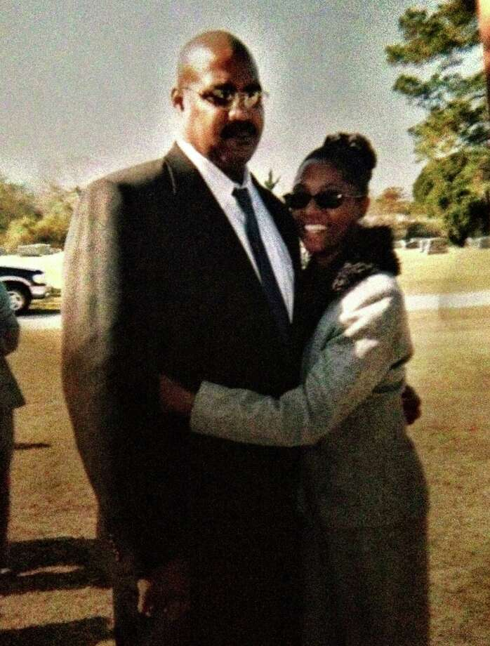 Eugene Scott, 53, and his wife Sheila Scott, 52, in an undated photo. The Scotts were found shot to death in their southeast Houston home on June 8.