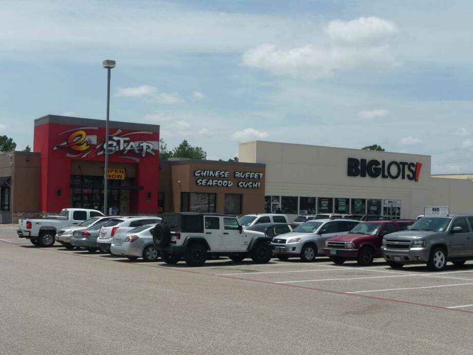 """The former Toys """"R"""" Us at 7323 FM 1960 has been remodeled for Big Lots and E. Star Chinese Buffet and Sushi Bar, and has a new owner. Photo: NA"""