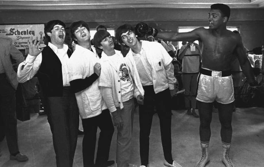 1964:  Goofy publicity picture of the kind popular 50 years ago. (Associated Press)