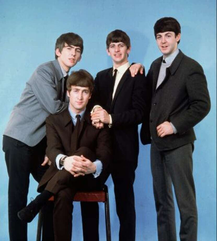 1964:  The Beatles in their early days of stardom. (DEZO HOFFMAN / ABC)