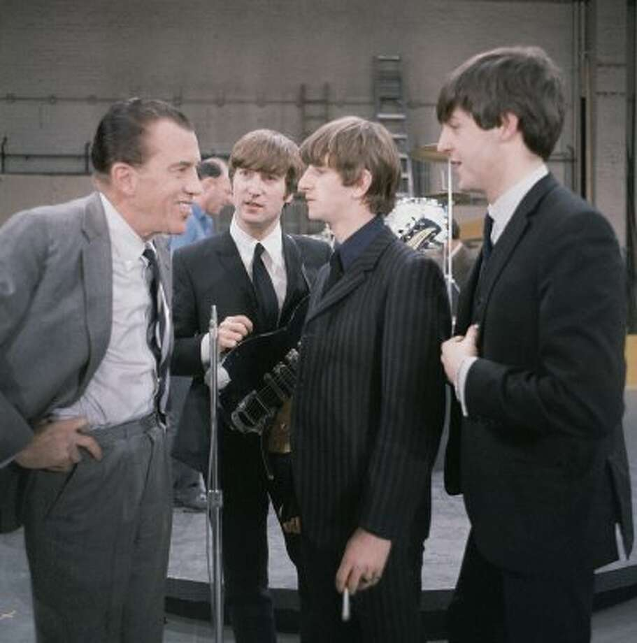 With Big Ed on February 9, 1964.