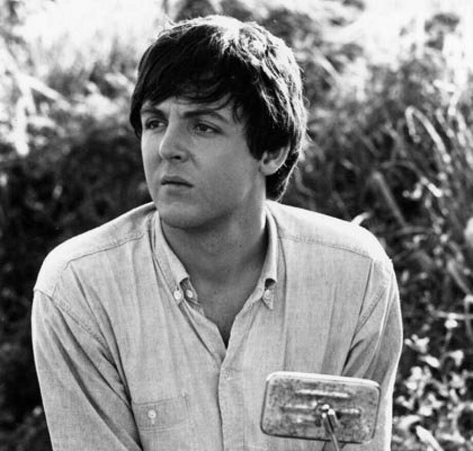 """1965 -- McCartney in 1965, at around the time of """"Yesterday."""""""
