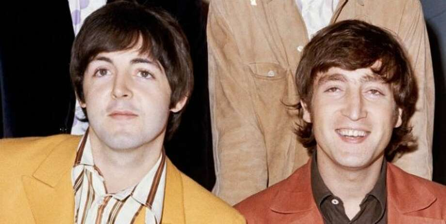 McCartney with John Lennon, 1966
