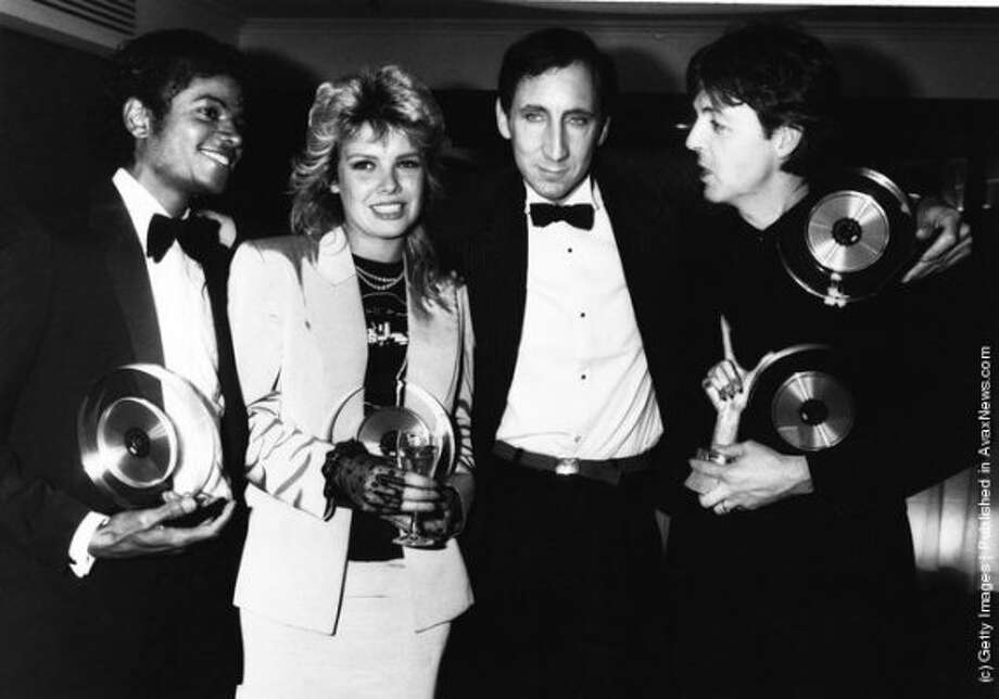 McCartney, Linda and associates in 1983.
