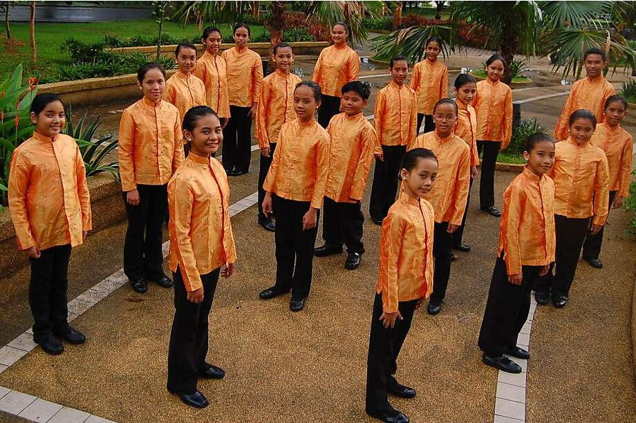 Mandaluyong Children's Choir, Philippines will be among 600 of the world's top singing youth, who represent 20 award-winning choirs, who will convene in the Bay Area for the 20th Golden Gate International Children and Youth Choral Festival, presented by Piedmont Choirs July 9-14 at various venues around the Bay. Photo: Mandaluyong