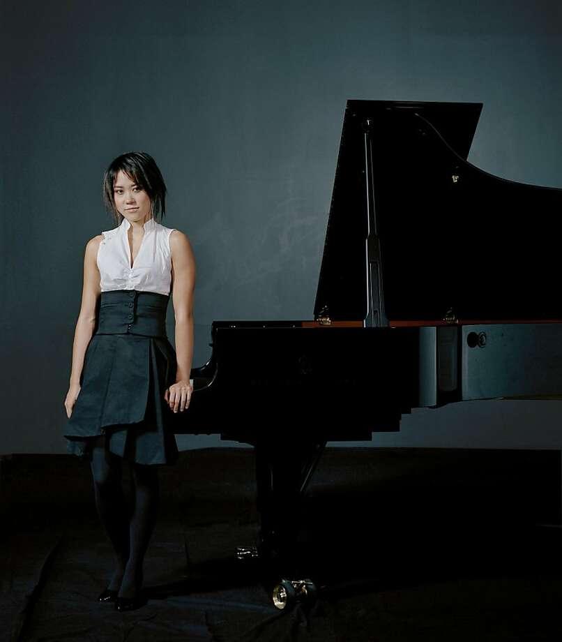 Pianist Yuja Wang Photo: Felix Broede/DG