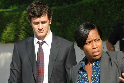 "Tom Everett Scott and Regina King on ""Southland."" Photo: Richard Foreman, NBC Universal, Inc."