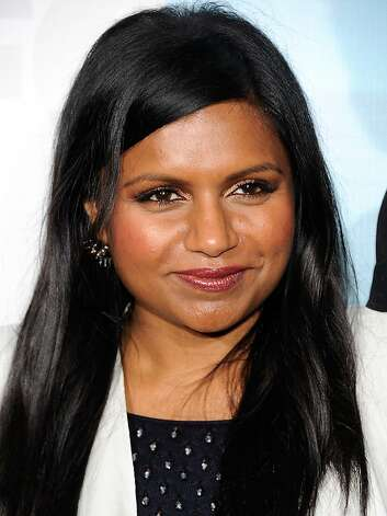 Mindy Kaling attends the FOX network upfront presentation party at Wollman Rink, Monday, May 14, 2012 in New York. (AP Photo/Evan Agostini) Photo: Evan Agostini, Associated Press
