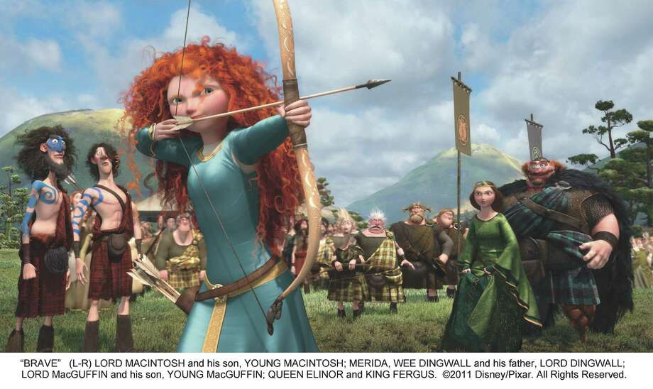 "Princess Merida of ""Brave"" Photo: DISNEY/PIXAR"