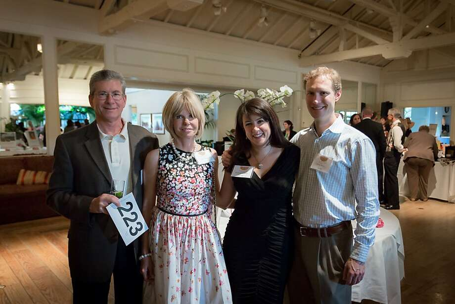 Community Overcoming Relationship Abuse, or CORA, held its annual fundraising gala on May 10, 2012, at the Menlo Circus Club in Atherton. The nonprofit is the sole agency in San Mateo County serving people who are physically, emotionally and mentally abused by their partners, and offers shelters for victims to escape abuse. From left to right: major CORA donors Michael and Sally Mayer, and CORA board member Rosemary Hintz with Greg Hintz. Photo: David K. Martinez